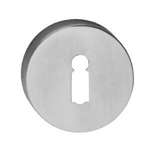 comfidoor sleutelrozet round rvs (set van 2 stuks)