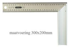 stanley winkelhaak 1-45-686 300x200mm