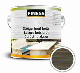finess steigerhoutbeits binnen/buiten anthraciet-wash 2,5ltr