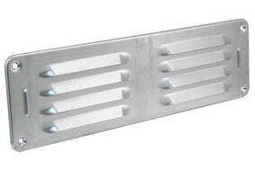 schoepenrooster aluminium 300x90mm