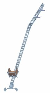 apache ladderlift compleet met knikstel 10,4m