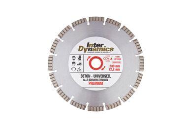INTERDYNAMICS Duopack Diamantblad Universeel 125mm