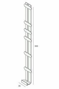 keralit tussenstuk 2848 monumentengroen 350mm