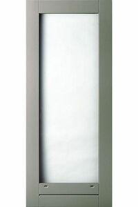 weekamp balkondeur hardhout of brede stijl wk042 bw244 grijs +isoglaslatten komo