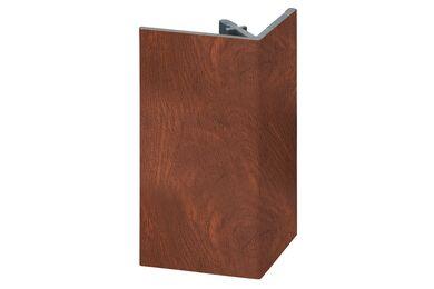 KERALIT 2812 Uitwendig Rechthoekprofiel Golden Oak Classic Nerf 46x46x4000mm