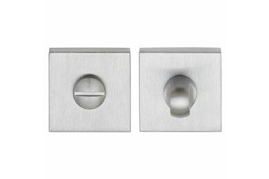 SKANTRAE Toiletgarnituur Vierkant Clarke Chroom / Mat Chroom