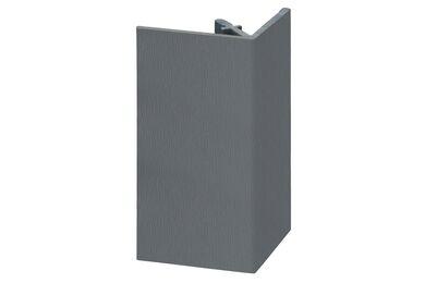 KERALIT 2812 Uitwendig Rechthoekprofiel Basaltgrijs Classic Nerf 46x46x4000mm