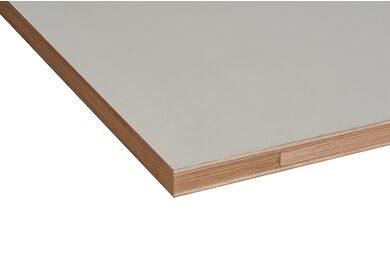 MILLPANEL Alustabiel Massieve Deur Grijs MDO Stomp FSC 2350x950x54mm