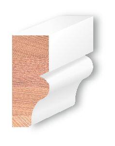 Totem Western red cedar Gootlijst Gegrond 32x75x4600mm