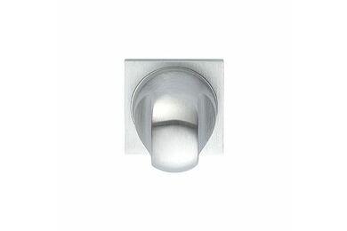 SKANTRAE Toiletgarnituur Vierkant Tulsa Minimal Mat Chroom