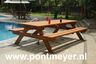 picknicktafel giant hardhout 2500x1600x750