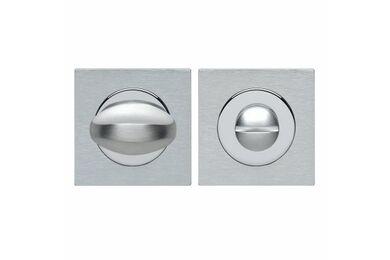 SKANTRAE Toiletgarnituur Vierkant Quastro Chroom / Mat Chroom