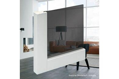SKANTRAE SSL 4403 Rook Glas Opdekdeur Rechts FSC 830x2315mm