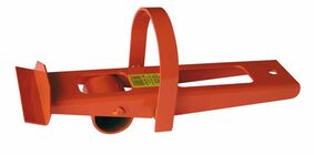 platen/deurwipper met wiel
