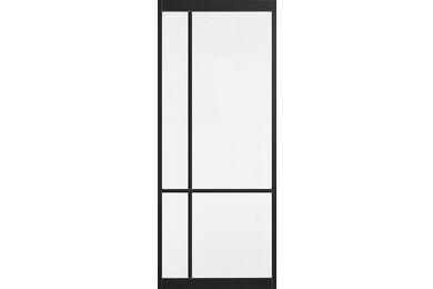 SKANTRAE SSL 4109 Blank Glas Stompe Deur FSC MAATWERK T/M 2115mm