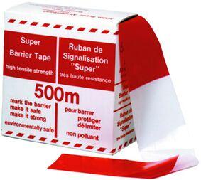 afzetlint rood/wit 500m