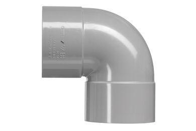 MARTENS PVC Bocht 2x Lijmmof 90° 75mm