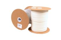 Cel-/glasband PE Wit 9x4mm 100m