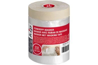 KIP Maskingtape met Folie 232-54 550mmx33m