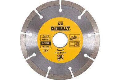 DEWALT DT3711-QZ Diamantblad Gesegmenteerd 125mm 22.2mm Universeel