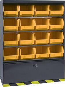 bedrijfswagenkast met 16 bakken 103