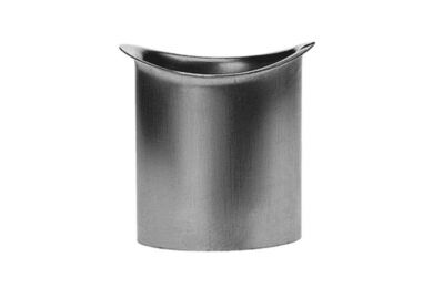 RHEINZINK Tapeind Voor Mastgoot Ovaal 80mm