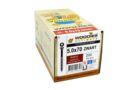 WOODIES Potdekselschroef 5,0x70/40 RVS 410 Ral 9005 ( 200 Stuks )