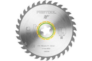 FESTOOL Universeel Zaagblad 190x2,6 FF W32