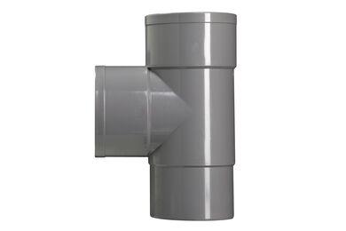 MARTENS PVC T-stuk HWA 2x Lijmmof 87° 80mm