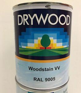 drywood timberstain zwart blik a 1ltr