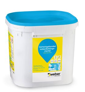 weber.dry cement waterdichte mortel 24kg