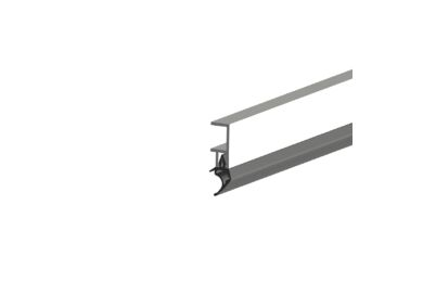 ELLEN Arp Tochtstrip Aluminium 2300mm