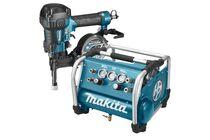 makita startset hp tacker en compressor 22bar dk1146 1800w