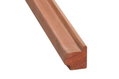 Hardhout Raamprofiel Stijl RP3 (Dubbelglas) 54x67x3350mm
