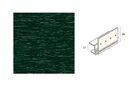 KERALIT Dakrand Montageprofiel 17mm Donkergroen Classic Nerf L= 6000mm