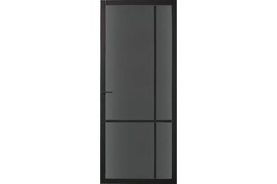 SKANTRAE SSL 4007 Rook Glas Opdekdeur Links FSC 780x2315mm