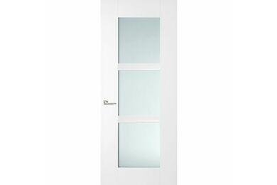 SKANTRAE SKS 3453 Stompe Deur Blank Glas FSC 930x2015mm