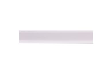 Afwerkingsprofiel Zelfklevend Wit Kunststof 4x30x2600mm