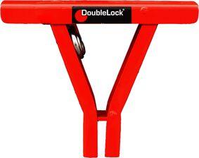 doublelock trekhaakslot met 5 sleutels