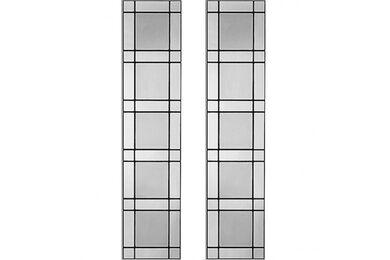 WEEKAMP Glas In Lood 5 Glasset T.B.V. WK6542 En WK6552 830x2315mm