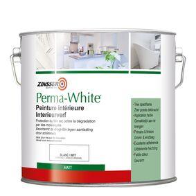 zinsser permawhite muurverf mat wit 3,75ltr