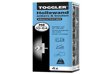 TOGGLER M8 Hollewandanker 10-64mm