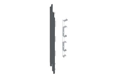 KERALIT 2884 Eindkap + Connector Links Voor 2819 Basaltgrijs Classic Nerf