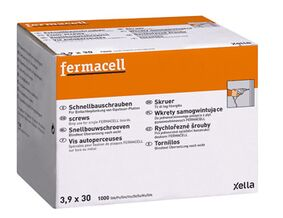 fermacell snelbouwschroeven 3,9x30mm 1000st