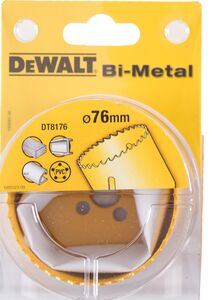 dewalt gatenzaag bi-metaal dt8176-qz 76mm