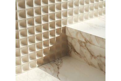 Fitwall Creative Wandpaneel Shades White Sand 3165x1228x10mm