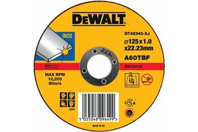 DEWALT DT42340TZ-QZ Slijpschijf INOX 125x1mm