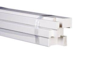 kozijn hardhout opdek wit gegrond 56x90x2315 fsc 100%