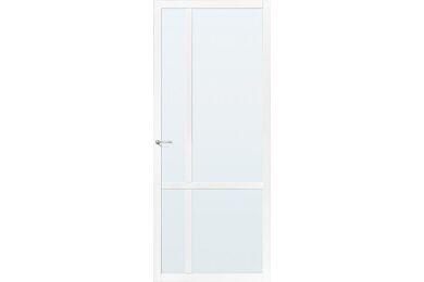 SKANTRAE SSL 4429 Blank Glas Opdekdeur Links FSC 730x2015mm