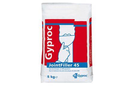 gyproc jointfiller 45 zak 5kg